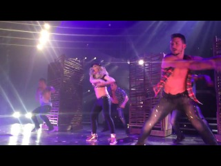 Britney Spears - Me Against the Music - Piece of Me Opening Night